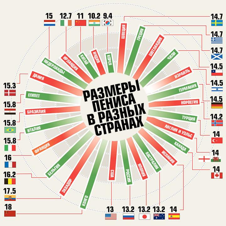 средний размер пениса в россии Брянская область