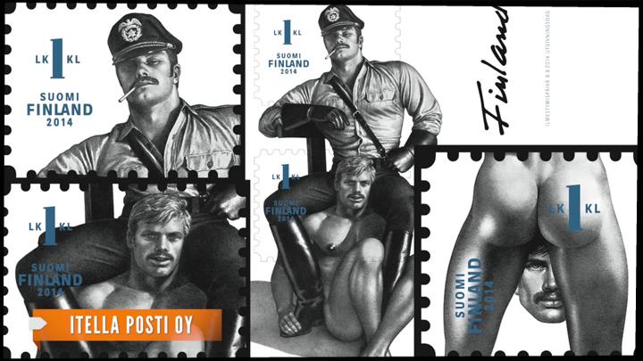 Финские почтовые гомосексуальные почтовые марки
